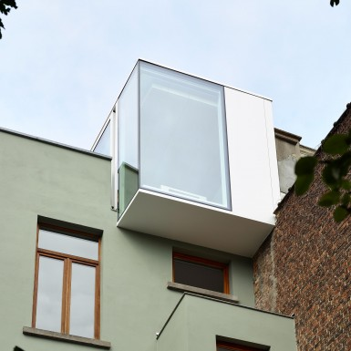 Extension contemporaine Schaerbeek
