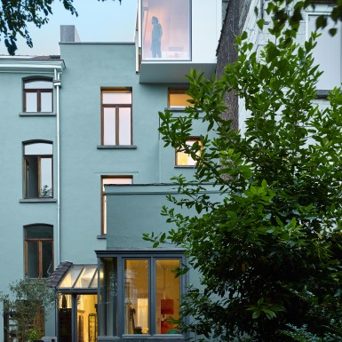 Extension maison Schaerbeek