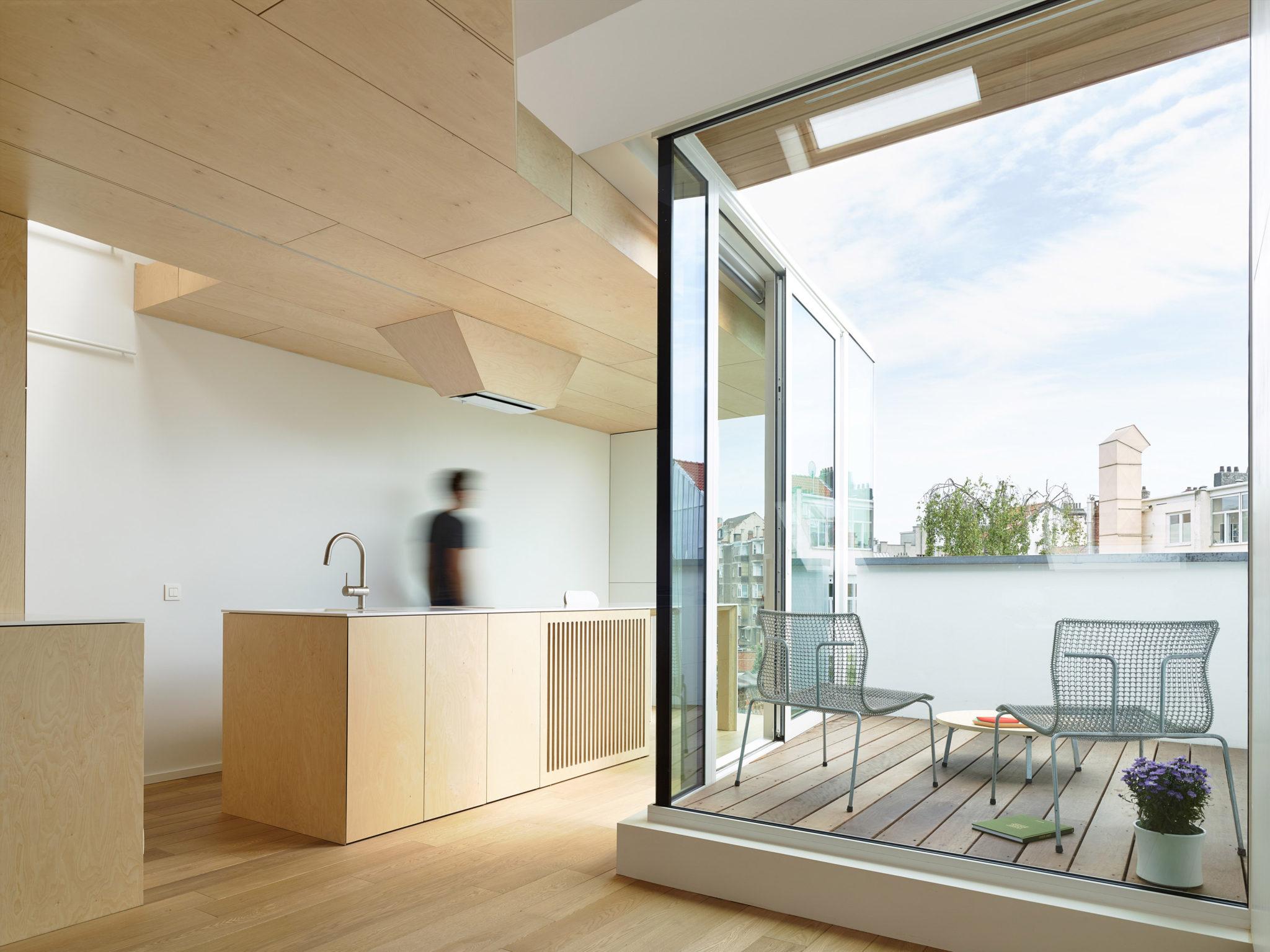 Eb architecture architecte bruxelles forest saint gilles