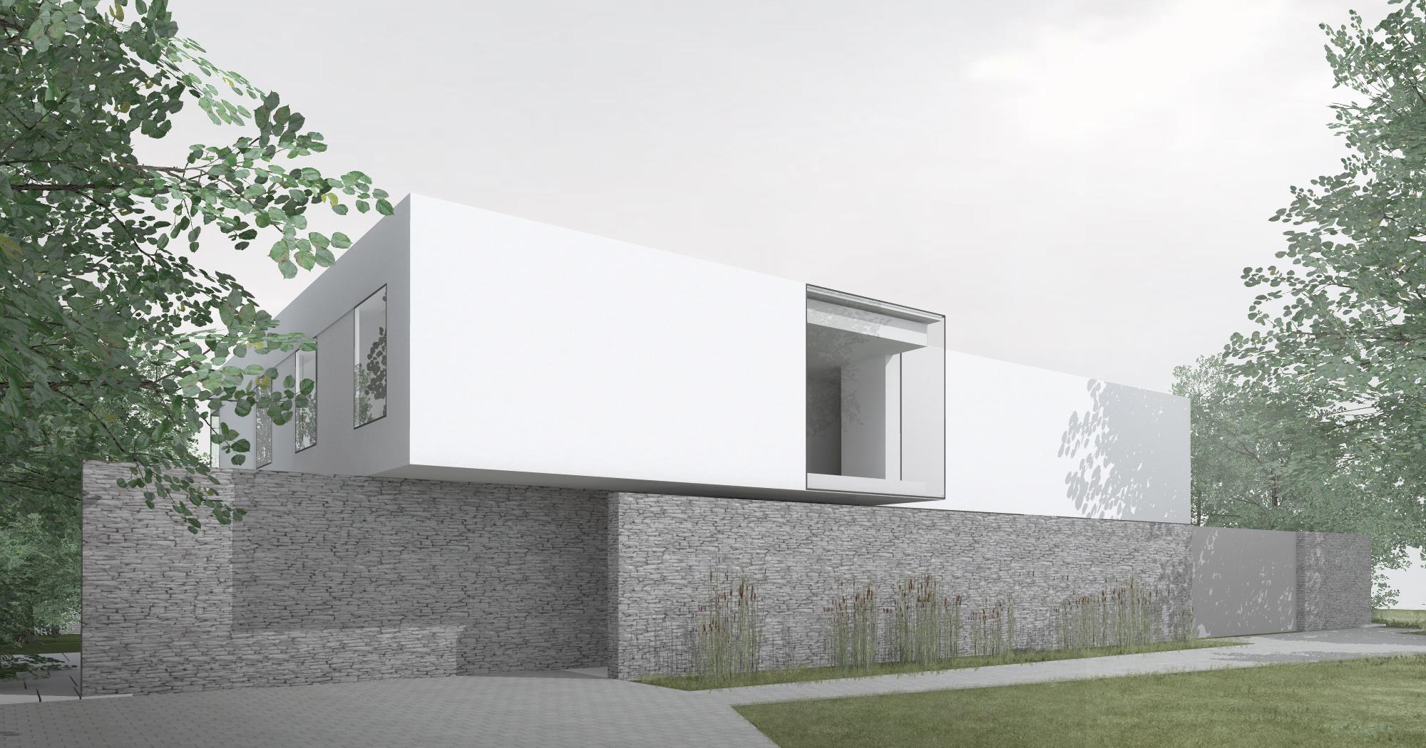 Maison contemporaine à Bruxelles