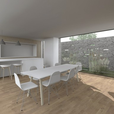 Maison contemporaine en Belgique