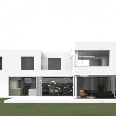 Nouvelle villa contemporaine à Bruxelles