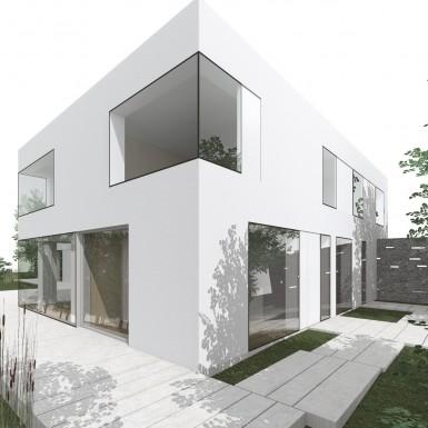 Nouvelle maison contemporaine à Bruxelles
