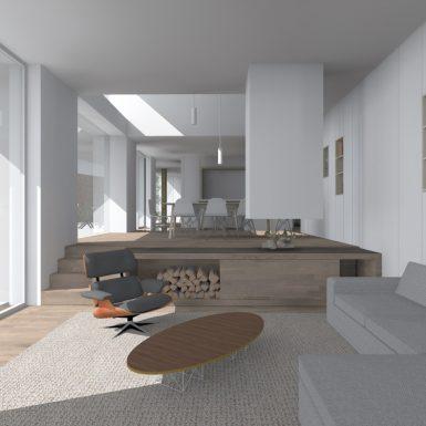 Transformation d'une maison à Bruxelles