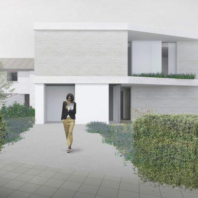 Transformation d'une maison bruxelloise
